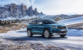 ŠKODA presenta il SUV KODIAQ nelle nuove varianti SCOUT e SPORTLINE