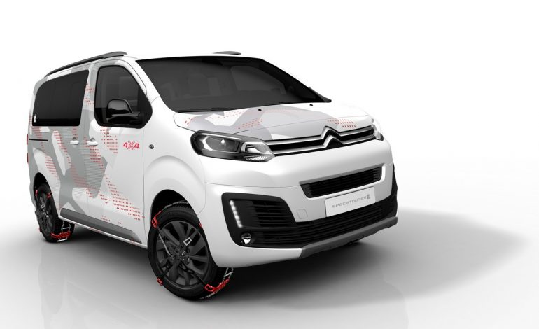 Citroën SpaceTourer 4×4  Ë Concept: Vivere l'avventura con stile