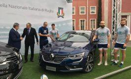 Renault Italia diventa sponsor ufficiale della Nazionale Italiana di Rugby