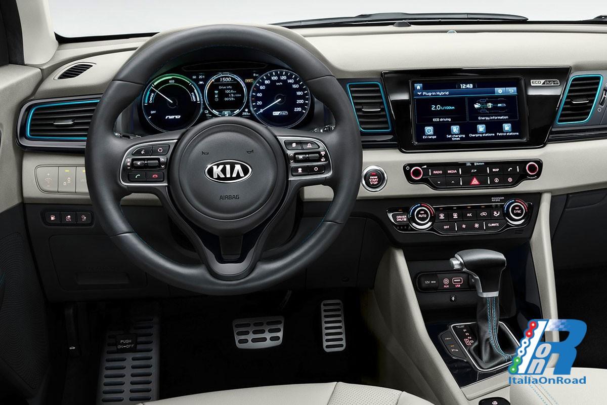 Kia Niro Plug In >> Kia Niro Plug-in Hybrid il crossover nato ibrido, ancora più efficiente | ItaliaOnRoad - Rivista ...