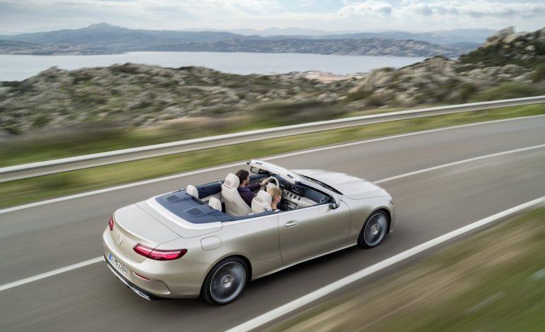 Nuova Classe E Cabrio: la scoperta del lusso