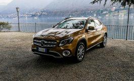 Prova Mercedes GLA, adesso più alto e muscoloso - primo contatto