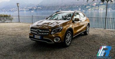 Mercedes GLA, adesso più alto e muscoloso - primo contatto