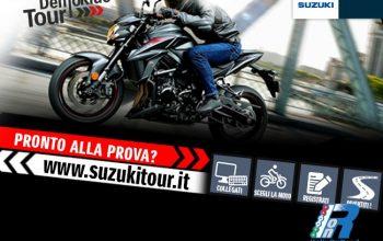 DemoRide Tour 2017: tutti in sella con Suzuki!