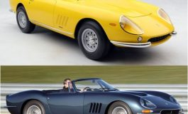 """Due bellissime Ferrari spider """"fuoriserie"""" simili ma non uguali"""