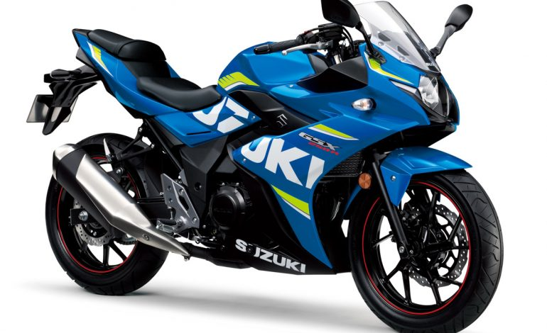 Nuovo listino Suzuki Moto: la GSX250R debutta sul mercato italiano