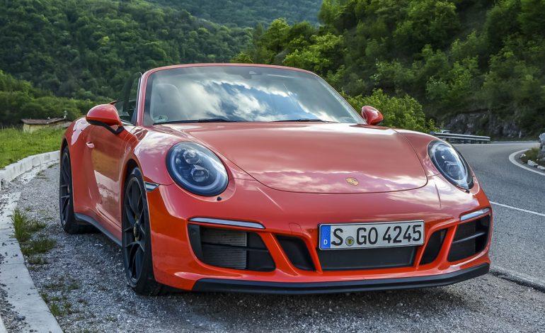 Prova Porsche 911 GTS Cabriolet – primo contatto