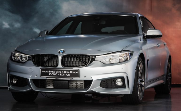 Nuova BMW Serie 4 Iconic 4 Edition