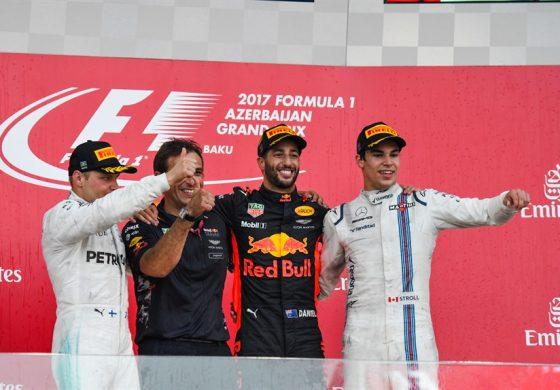 GP d'Azerbaijan 2017, follie da Formula 1