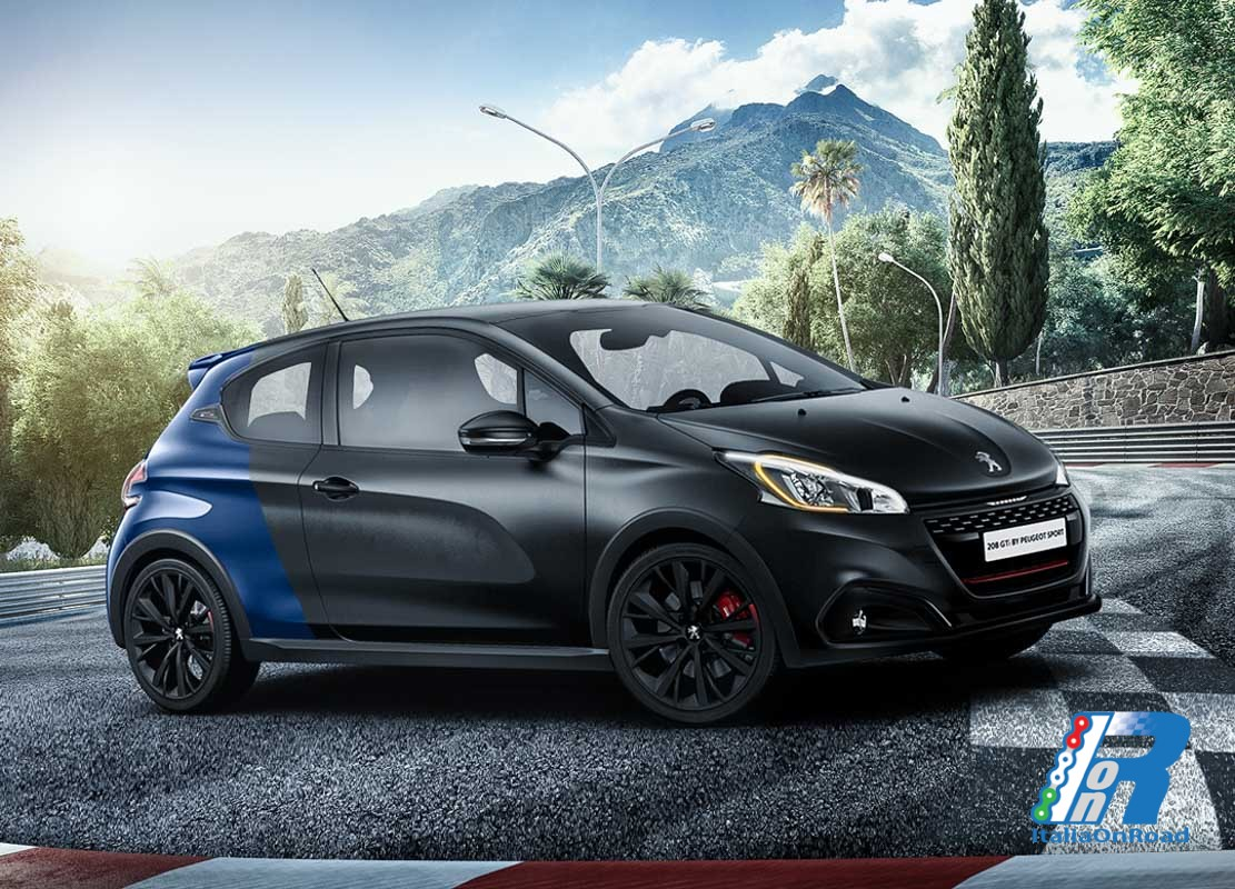 208 gti by peugeot sport la doppia scelta di coupe. Black Bedroom Furniture Sets. Home Design Ideas
