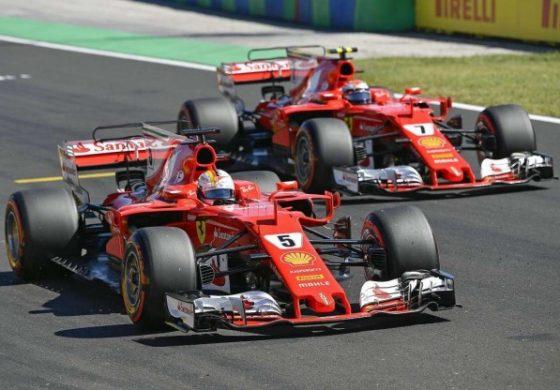 Formula 1 2017, GP di Ungheria – E' doppietta Ferrari