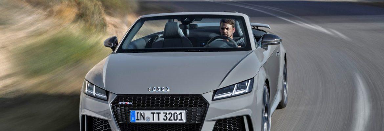 Nuova Audi TT RS Roadster: dalla pista alle strade d'Italia