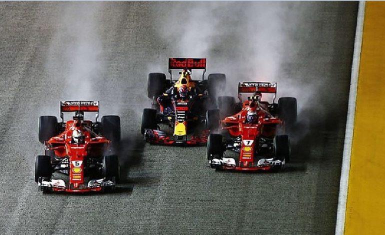 F1 2017, Singapore: le due Ferrari fuori al via; Hamilton in fuga, mondiale finito?