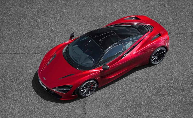 McLaren Automotive sceglie la vetrina di Chantilly Arts & Elegance