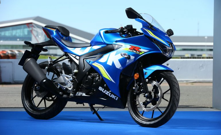 Debuttano le nuove Suzuki GSX-R125, GSX-S125 e V-STROM 250