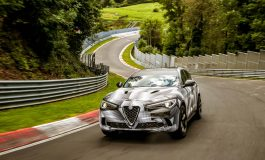 Alfa Romeo Stelvio Quadrifoglio, Record sul giro al Nürburgring
