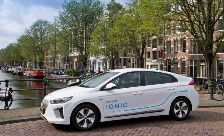 IONIQ Electric: ad Amsterdam il primo car-sharing elettrico Hyundai