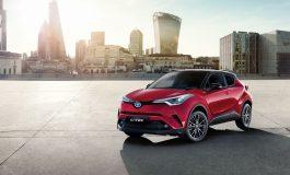Toyota rinnova l'intera gamma C-HR per il 2018