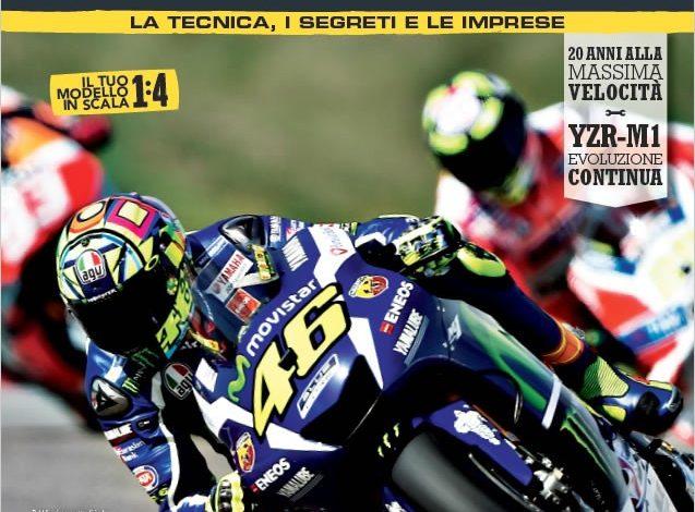 La Yamaha di Rossi? Oggi a casa tua con De Agostini!