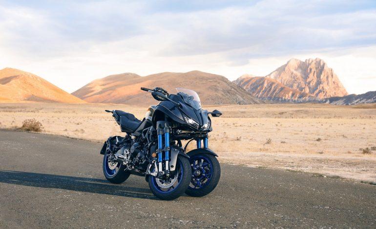 Nuovo Yamaha Niken. Ride the Revolution