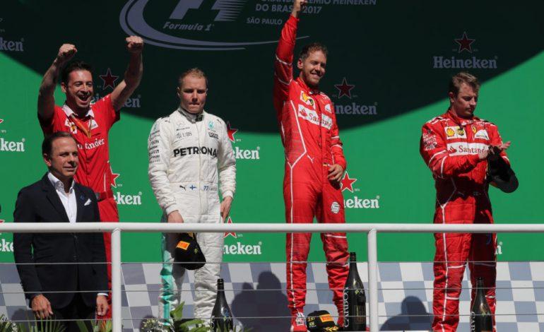 Gran Premio del Brasile di Formula 1 – Vettel torna sul primo gradino del podio