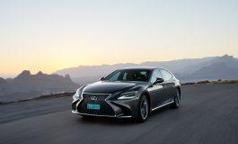 Lexus presenta la nuova LS Hybrid