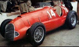 La prima Ferrari Formula 1