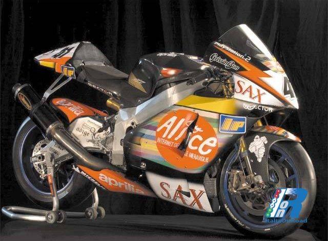 L'Aprilia RS Cube per la MotoGP