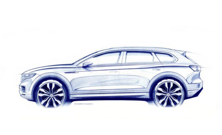 La nuova Volkswagen Touareg