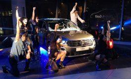 Reveal della nuova Volkswagen T-Roc all'insegna del Rock 'n' Roll