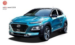 Hyundai Kona e NEXO premiate ai Red Dot Design Awards 2018