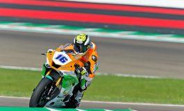 Supersport - Ad Imola volata vincente di Jules Cluzel. Caricasulo e De Rosa sul podio