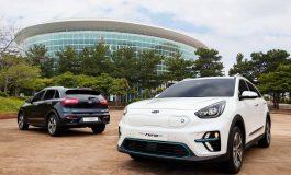 Kia svela in Corea le prime immagini di Niro EV, il crossover nato ibrido, ora anche elettrico