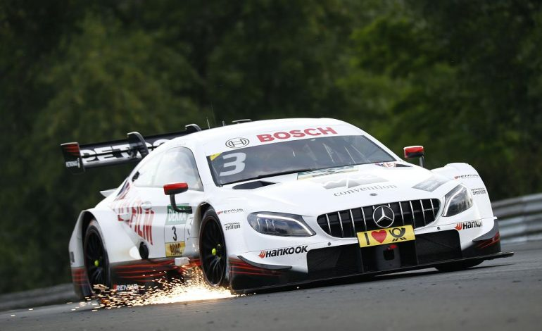 DTM – In Ungheria Di Resta e Wittmann si dividono le vittorie. Brutto incidente in pit lane