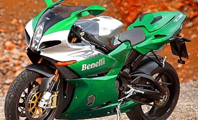 La bellissima e originale Benelli Tornado Tre