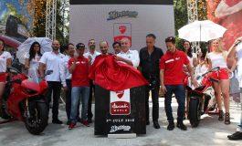 """Posa della prima pietra di """"Ducati World"""" a Mirabilandia"""