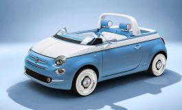 La Fiat 500 Spiaggina compie 60 anni: Garage Italia e Fiat festeggiano