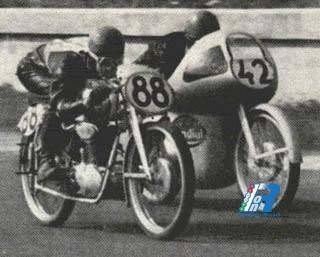 GP dell'Ulster 1950, la classe 125 registra la classifica finale più corta di tutti i tempi