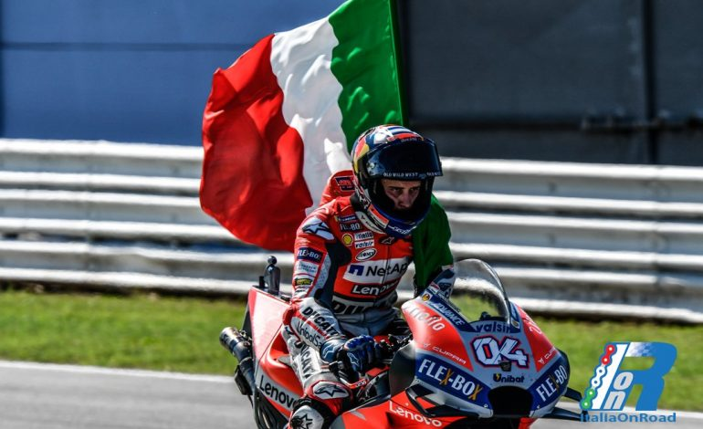 CS Ducati MotoGP Misano: Vittoria di Andrea Dovizioso, Jorge Lorenzo cade a due giri dal termine