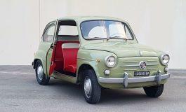 """Le FIAT del boom economico: la """"600"""""""