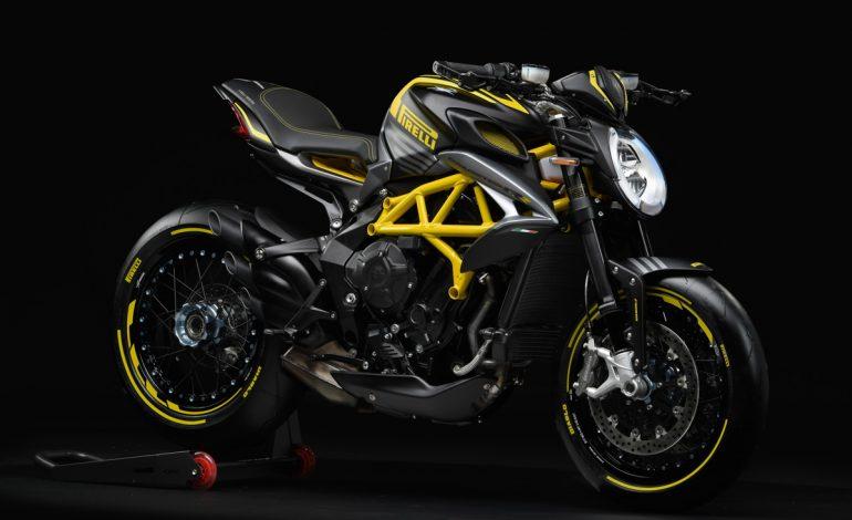 Dragster 800 RR Pirelli, firmata MV Agusta e Pirelli Design