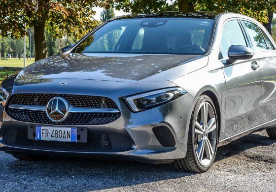 Prova Mercedes-Benz Classe A -  l'auto del futuro che si guida nel presente