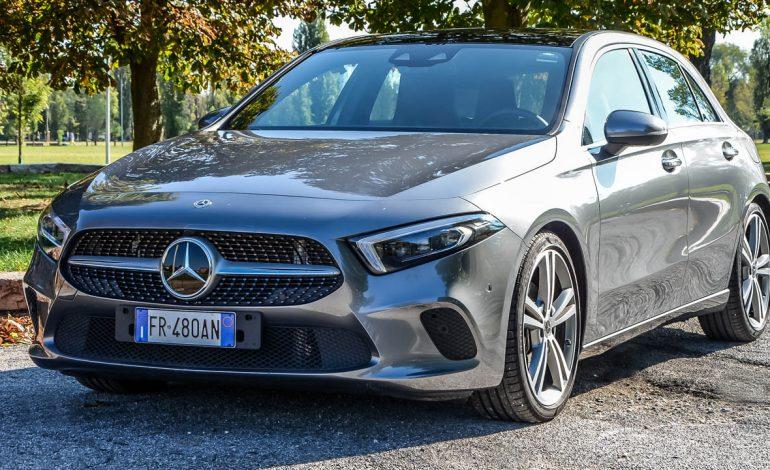 Prova Mercedes-Benz Classe A –  l'auto del futuro che si guida nel presente