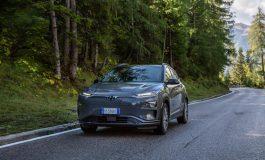 Hyundai Kona Electric: rivisti i dati WLTP sull'autonomia di guida