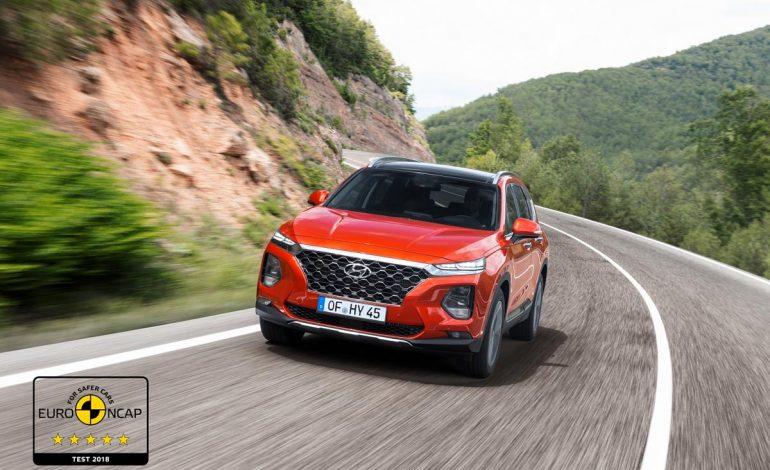 Nuova Hyundai Santa Fe conquista le  Cinque Stelle Euro NCAP