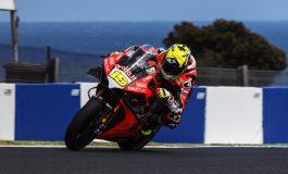 WorldSBK - Ducati al comando nei test di Phillip Island con Alvaro Bautista