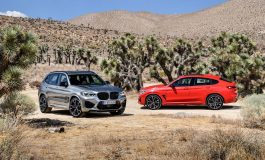 Le nuove BMW X3 M e BMW X4 M Competition