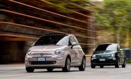 Nuova gamma Fiat 500:  Star e Rockstar