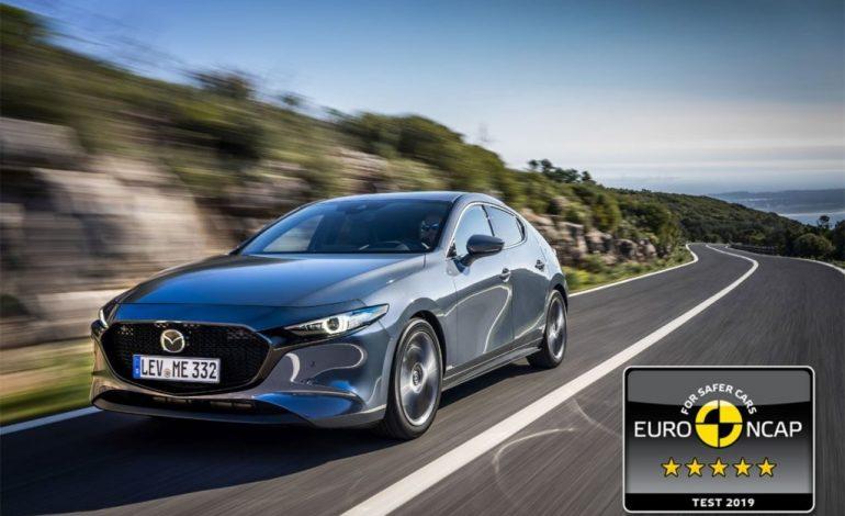 5 stelle Euro NCAP per la Nuova Mazda3