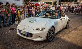 Emozioni al Motor Show di Parco Valentino con la Journalist Parade e la Mazda MX-5
